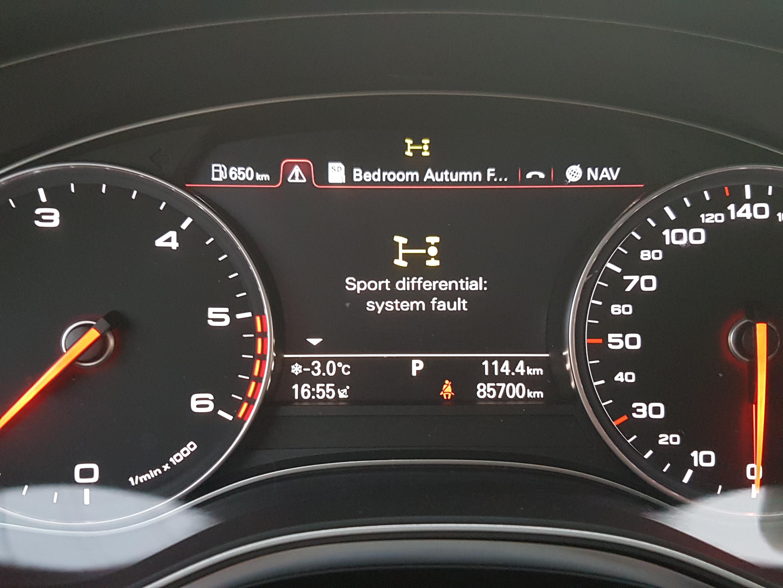 Sport differential:system fault - тип 4G - AUDI CLUB BULGARIA (Ауди
